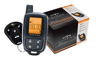 avital 2 way lcd remote start with security rh avital com Avital Remote Programming Avital Remote Programming