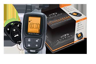 avital 2 way lcd remote start with security rh avital com Avital 4103 Avital 4103